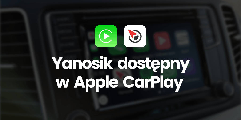 Yanosik CarPlay