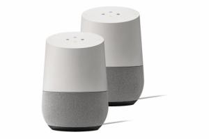 Due altoparlanti di Google Home