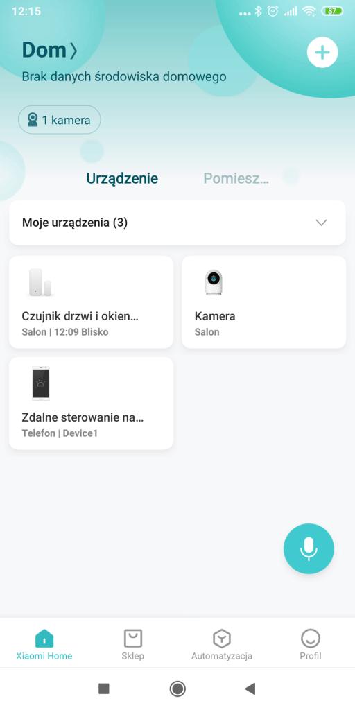 Xiaomi Home - Screen