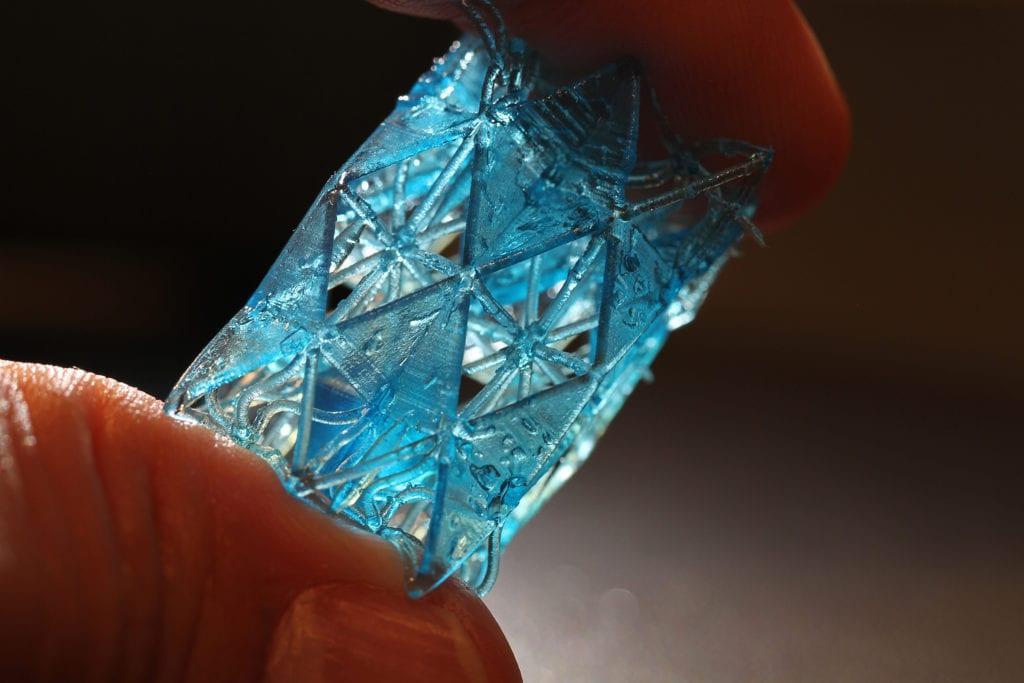 druk 3D struktura kości