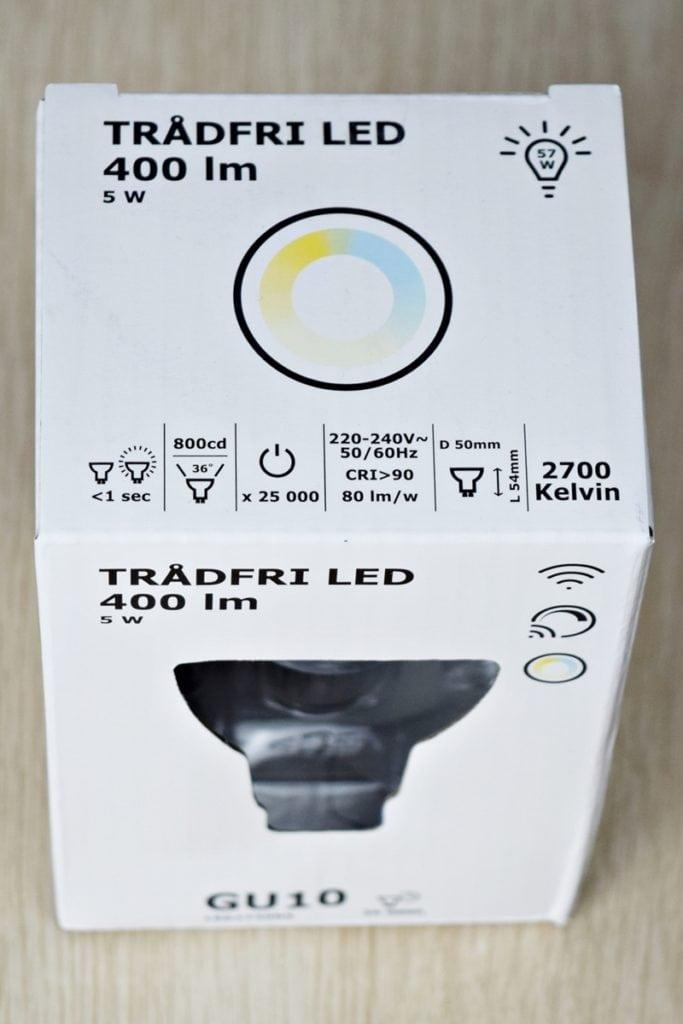 Żarówka GU10 Ikea Tradfri