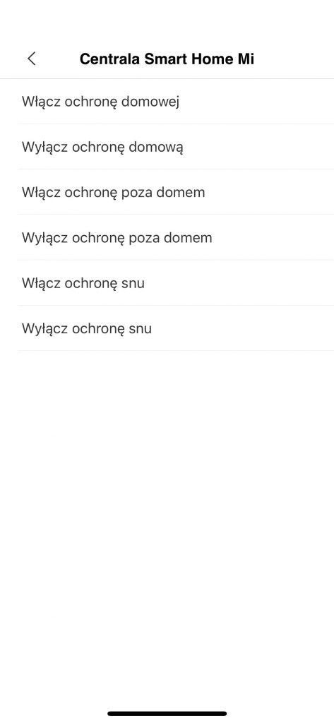 Automatyzacje Xiaomi