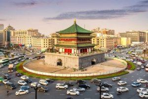 Xi'an မြို့ပြအသွားအလာ